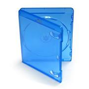 Obal BD-R Blu-ray disk modrý rozmer 149 x 128 x 12 mm
