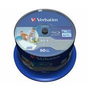 BD-R SL 25GB 6X Wide Printable 50 cake
