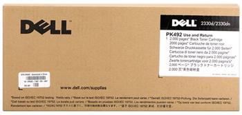 toner DELL PK492 Black 2330d/2330dn/2350d/2350dn (2 000 str.) return