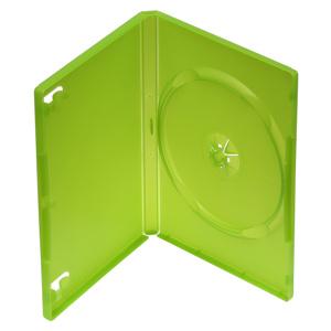 Obal na 1DVD 14mm, zelený, push up systém