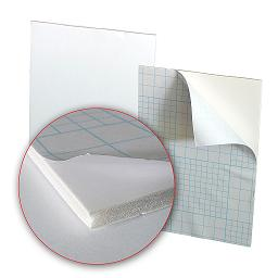 doska RAYFILM 1,524m x 1,016m / 5mm biela adjustačná RAYBOARD (25ks)