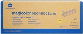 valec MINOLTA Magicolor 4650/4690MF/5550/5570/5650EN yellow