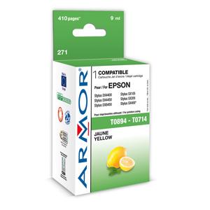 kazeta ARMOR EPSON Stylus D78/ DX4000, SX105/405 Yellow (T0714,T0894)