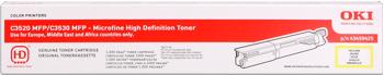 toner OKI C3500MFP/C3520MFP/C3530MFP, MC350/MC360 yellow