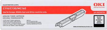toner OKI C110/C130n, MC160n black (2500 str.)