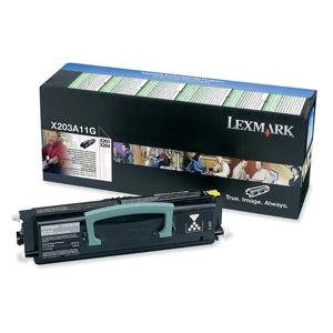 Toner Lexmark X203, X203N, X204 2,5K