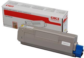toner OKI C610 yellow