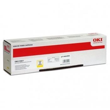 toner OKI C801/C821 yellow