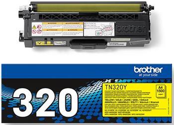 toner BROTHER TN-320 Yellow HL-4150CDN/4570CDW, MFC9460CDN