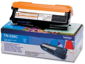 toner BROTHER TN-328 Cyan HL-4570CDW, MFC-9970CDW