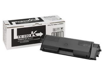 toner KYOCERA TK-590K Black FS-C 5250DN, FS-C 2026MFP/2126MFP/2526MFP/2626MFP, Ecosys P6026cdn