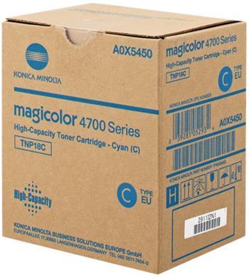 toner MINOLTA TNP18C cyan Magicolor 4750DN/4750EN (6000 str.)