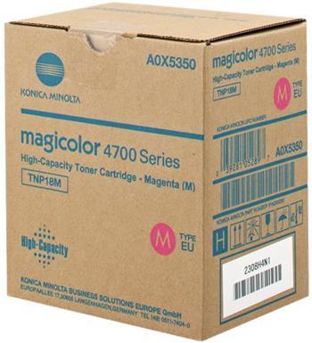 toner MINOLTA TNP18M magenta Magicolor 4750DN/4750EN (6000 str.)