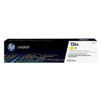 TONER HP CE312A Žltý toner HP126 pre LaserJet Pro CP1025/nw