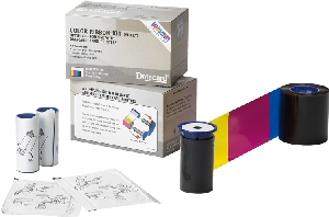 ribbon kit DATACARD (YMCKT) CP40/CP60/CP80, CD800 color