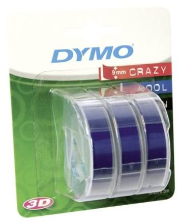 páska DYMO 3D Blue Tape (9mm) 3ks