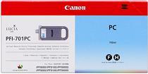 kazeta CANON PFI-701PC photo cyan iPF 8000/8000s/8100/9000/9000s/9100 (700ml)