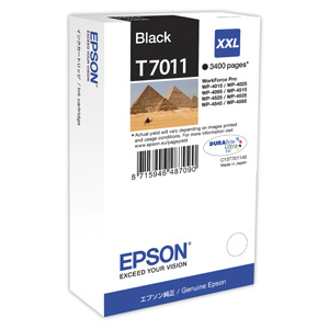 kazeta EPSON WorkForce WP4000,WP4500 black XXL 3.400 strán