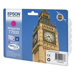 kazeta EPSON WorkForce WP4000,WP4500 magenta L 800 strán