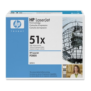 HP Q7551X �ern� toner LJ P3005/M3035mfp/M3027mfp,13000str.
