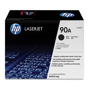 TONER HP CE390A Čierny pre LaserJet Enterprise M4555 serie 10000str.