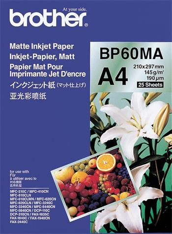 papier BROTHER BP60 matný A4/26ks