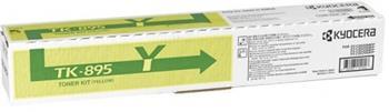 toner KYOCERA TK-895Y Yellow FS-C 8020MFP/8025MFP/8520MFP/8525MFP