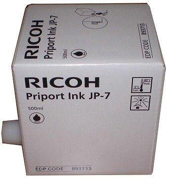 toner ink RICOH Typ JP 7 BK Priport JP 750
