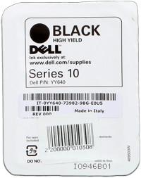 kazeta DELL YY640 black HY (Series 10) 928