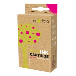 kazeta ECODATA pre BROTHER DCP-185/385 Magenta (LC-980/985/1100M) 20ml