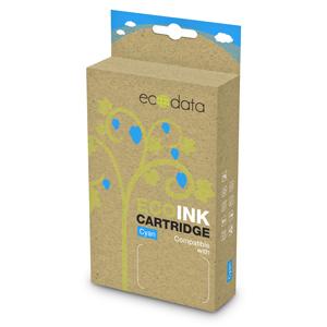 kazeta ECODATA pre CANON iP 4200, MP 510 cyan (CLi-8C) - s čipom 17ml