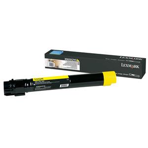 Toner Lexmark X950 X954 22K YELLOW
