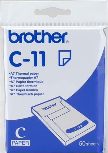 termo papier BROTHER C11, A7, pre MW-145BT/260 (50ks)