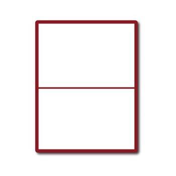 etikety ECODATA Samolepiace 210x148,5 univerzálne biele 2ks/A4 (100 listov A4/bal.)