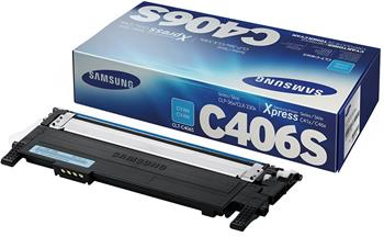 toner SAMSUNG CLT-C406S CLP 360/365, CLX 3300/3305 cyan