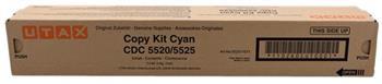 toner UTAX CD C5520/C5525, TA DC C6520/C6525 cyan