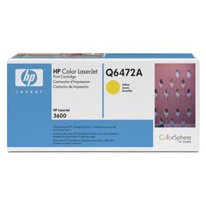 TONER HP Q6472A CLJ3600 Yellow, 4,000str.