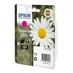 kazeta EPSON T1813 18XL Magenta (450 str)
