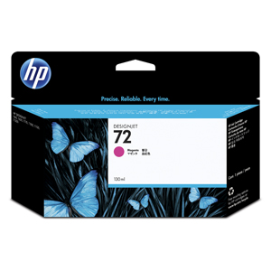 KAZETA HP C9372A No. 72, Magenta, 130 ml, Vivera