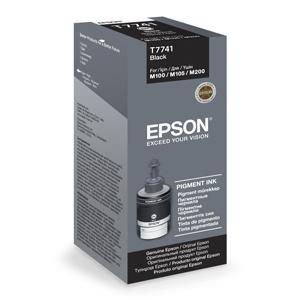 kazeta TANK EPSON M100/M105/M200/L655 T7741 Black 140ml (8.000 str.)