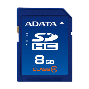 Pamäťová karta ADATA SDHC 8GB Class 4