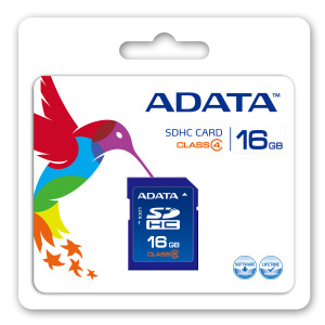 Pamäťová karta ADATA SDHC 16GB Turbo series Class 4