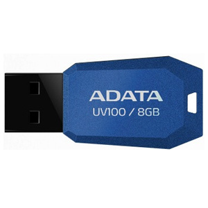 USB kľúč ADATA DashDrive™ Series UV100 8GB USB 2.0 slim, modrý