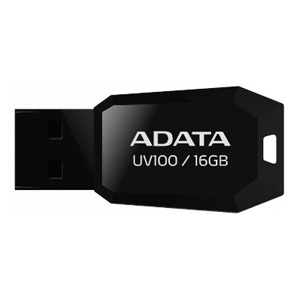 USB kľúč ADATA DashDrive™ Series UV100 16GB USB 2.0 slim, čierny