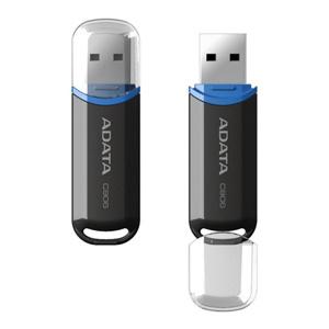 USB kľúč ADATA Classic Series C906 8GB USB 2.0 snap-on cap design, čierny