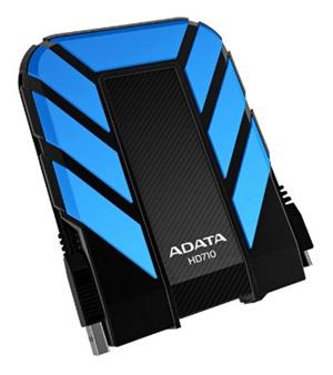 Externý pevný disk ADATA HD710 DashDrive™ Durable 1TB USB3.0, water/shock proof, modrý