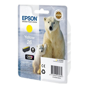 kazeta EPSON XP-600/700 T2614 26 Claria Yellow