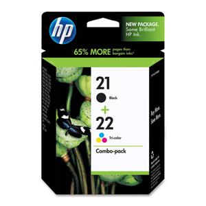 KAZETA HP SD367AE Kombo pack no.21/22 čierna + trojfarebná