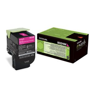 Toner Lexmark CX410/CX510  802HM 3K MAGENTA