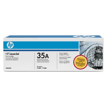 TONER HP CB435A Čierny pre LJ P1005/P1006, 1500 str.